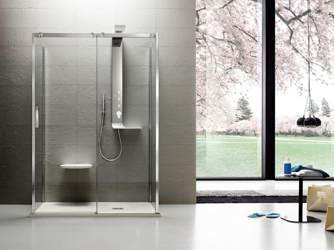 Box doccia e piatto doccia silvestri arredo bagno - Doccia design moderno ...