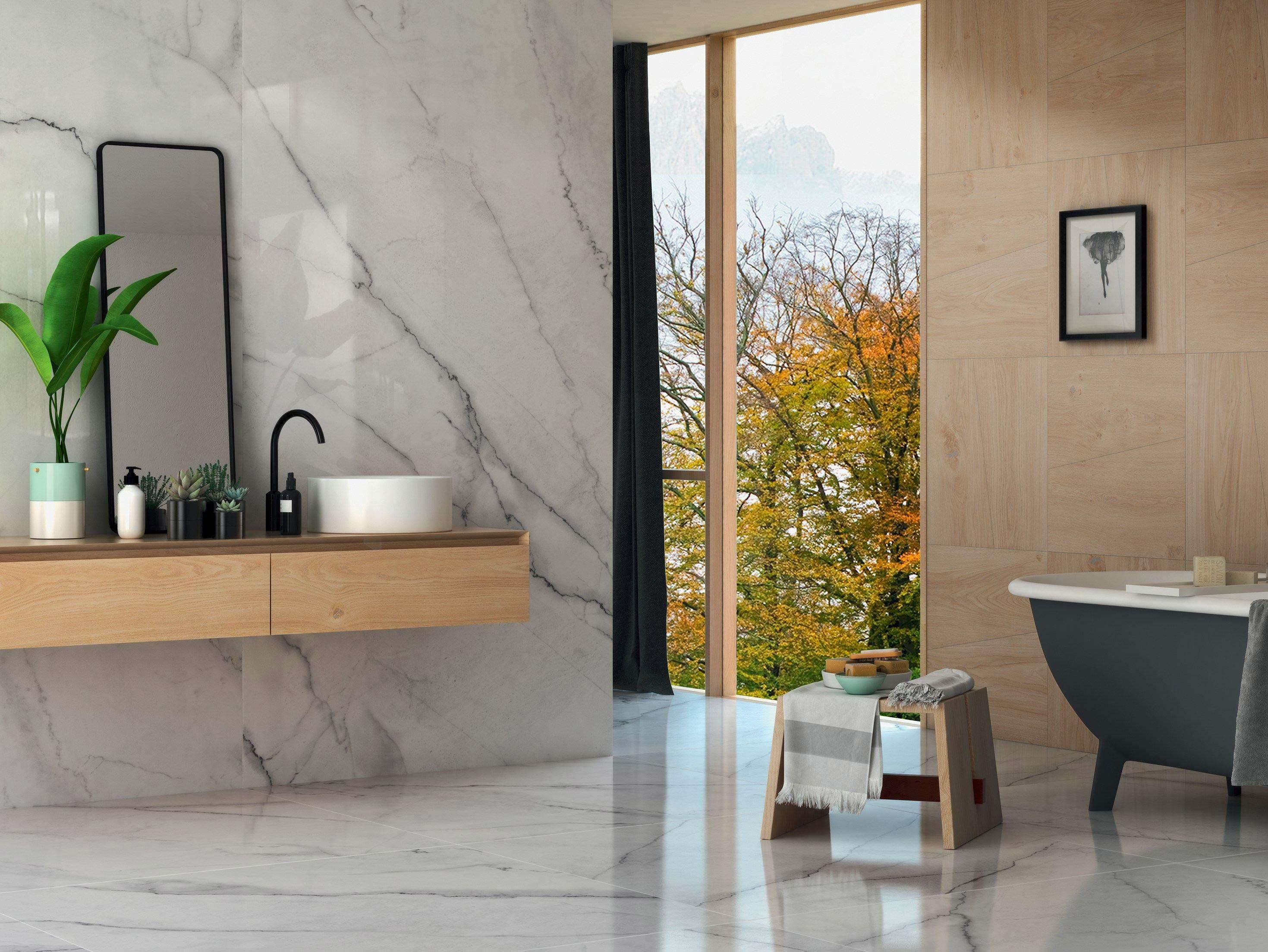 Pavimenti e rivestimenti in marmo o pietra silvestri a - Pavimenti gres porcellanato ...