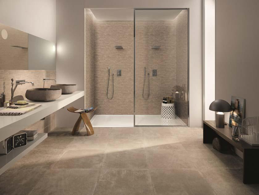 Rivestimenti bagno esempi da copiare silvestri pavimenti a cassola vi - Piastrelle pietra bagno ...