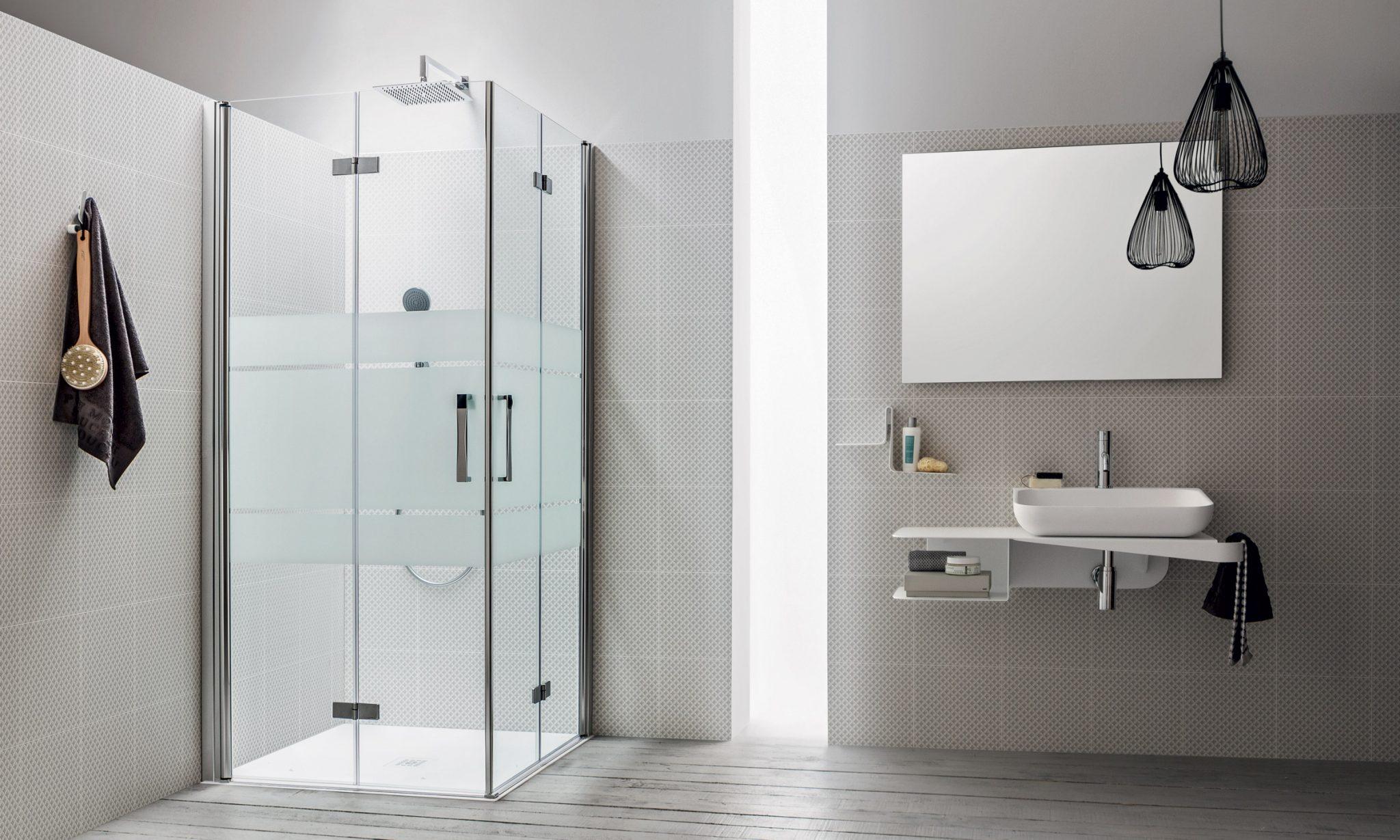 Box doccia e piatto doccia silvestri arredo bagno for Arredo bagno con box doccia