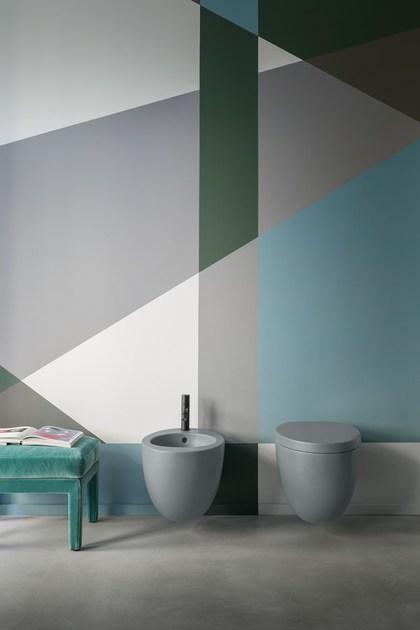 Sanitari bagno in ceramica sospesi o freestanding silvestri for Cielo arredo bagno