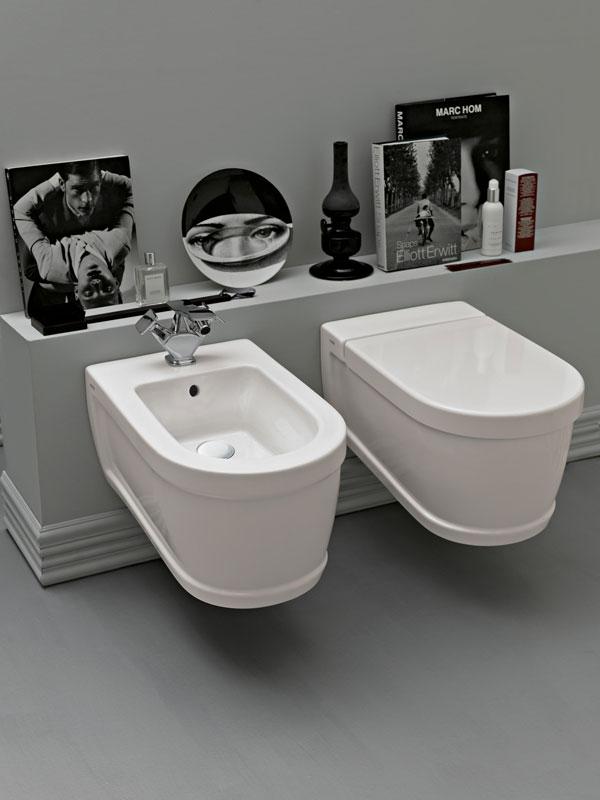 Sanitari bagno in ceramica sospesi o freestanding silvestri - Arredo bagno vicino a me ...