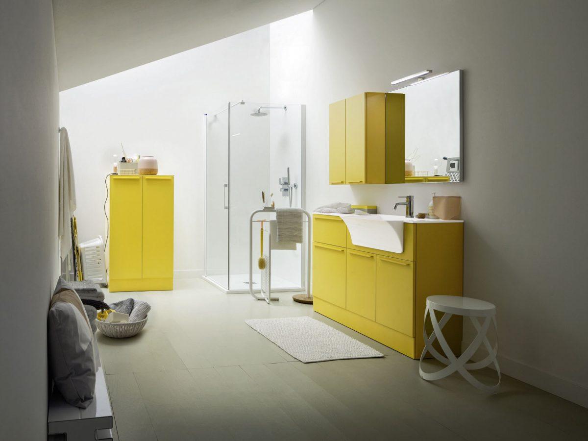 Mobili per bagno moderni e classici a cassola vi silvestri arredo bagno - Mobili bagno lavanderia ...