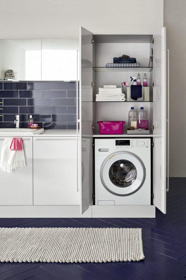 Mobili per bagno moderni e classici a cassola vi for Mobili lavanderia