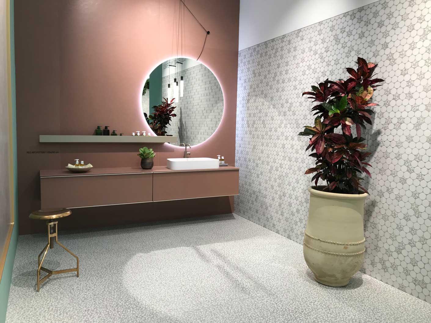 Cersaie le novità al salone della ceramica di bologna
