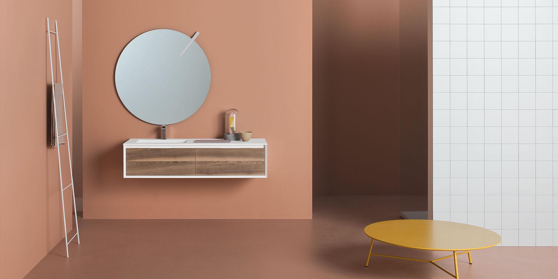 Immagini Relative A Bagni Moderni.Bagno Moderno Come Renderlo Piu Luminoso Usando Gli Specchi