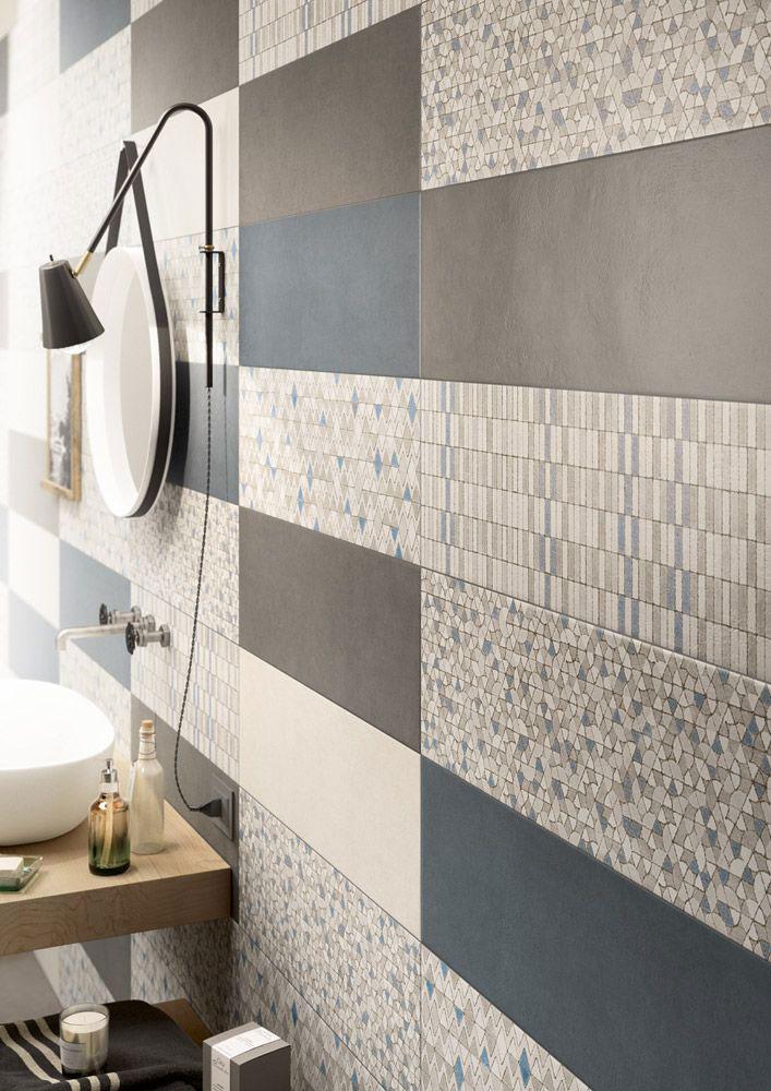 Bagno le piastrelle e l 39 arredo di tendenza nel 2019 - Le piastrelle del pavimento di un locale ...